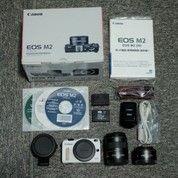Kamera Canon Eos M2 Fullset