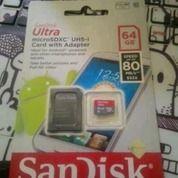 MicroSD Sandisk 64 GB Class 10