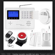 Smart GSM Home Security Siren Alarm System
