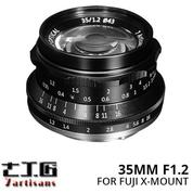 Lensa 7ARTISANS 35MM F1.2 FOR Mirrorless FUJIFILM X Mount Series