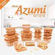 New Azumi Set Of 18 Orange