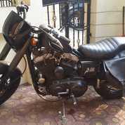Harley Sposter Tahun 2000 Warna Hitam Dop No Papper Bu