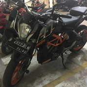KTM DUKE 250 ABS Full Paper Full Original Mulus