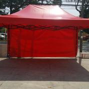Tenda Lipat Merah 1 Dinding Murah