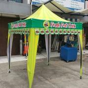 Tenda Lipat Praktis Warna Warni 2x2 (Bisa Print Logo)