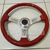 Stir Racing Wood Colour Import 14 Inchi Palang Chrome Premium