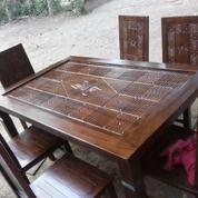 Kursi Meja Makan Minimalis Kayu Jati Murah Awet Kuat Mewah Terbaik
