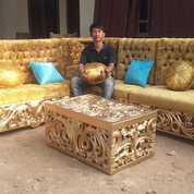 Kursi Tamu Sofa Sudut Arabian Minimalis Modern