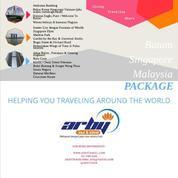 PAKET TOUR BATAM SINGAPURA MALAYSIA (4 HARI 3 MALAM)