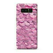 Pink Flakes Samsung Galaxy Note 8 Custom Hard Case