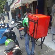 Tas Kurir Delivery Merah Polos