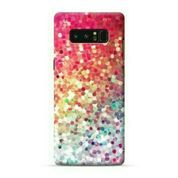 Colorful Glitter Sparkle Samsung Galaxy Note 8 Custom Hard Case