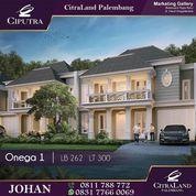 Rumah Mewah View Danau CitraLand Palembang