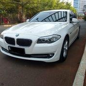 BMW 528i 2013 Putih Km 40rb Servis Record Lengkap