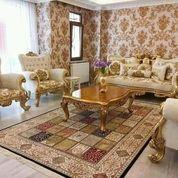 Kursi Tamu Sofa Romawi Ratu Jepara Modern