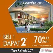 The Grand Banten , 70rb-An/Hari , Beli 1 Rumah Dapat 2 , Tol Medan Binjai