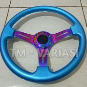 Stir Racing Wood Blue Colour Import 14 Inchi Palang Neochrome Premium