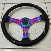 Stir Racing Wood Black Colour Import 14 Inchi Palang Neochrome Premium