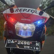 Honda CBR 150R CBU Thailand Repsol Livery Tahun Rakit 2013