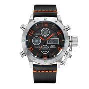 GOLDEN HOUR 106 Black Orange - Jam Tangan Sporty Pria