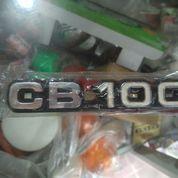 Emblem Logo Honda CB 100 Sepasang 2pcs