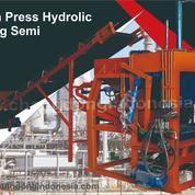 Mesin Paving Block Hydrolic Semi