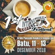 1st International Coffee Festival Batu 2018