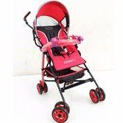 Kereta Bayi Pliko Pk 108 Adventure 2.0 Red Baby Stoller