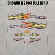 Striping Shogun R 2003 Full Biru
