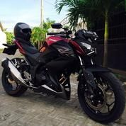 Kawasaki Z250FI Burgundy Red Limited