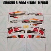 Striping Shogun R 2004 Hitam - Merah