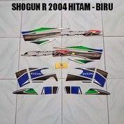 Striping Shogun R 2004 Hitam - Biru