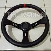 Stir Racing Import Premium Drifting Celong 14 Inchi Palang Hitam List Merah