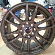 Velg Mobil Racing Ring 15x7 H8x100/114 Buat Avanza, Xenia, Mazda2,Brio, Calya, Sigra, Soluna, Livina
