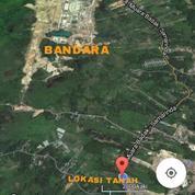 TANAH/LAHAN LUAS, Lokasi Sei Siring, Samarinda (Prospek Bandara Baru)