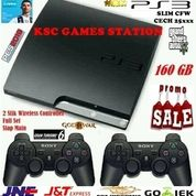 Big Promo.... New Ps3 Slim CFW CECH 25xxx Kapasitas 160 GB - 250 GB - 500 GB