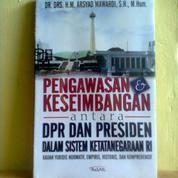 Buku Pengawasan Dan Keseimbangan Antara DPR Dan Presiden