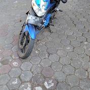 "Motor Kawasaki Athlete Biru 2011 Surat"" Lengkap, Belum Pernah Di Modif"