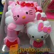 Kipas Angin Mini Hello Kitty Polkadot