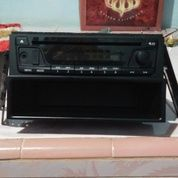 Head Unit Single Din Ori Mobil Sigra Tipe M,Usb,Aux,Cd Mp3,Radio