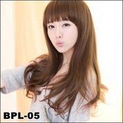 Supplier Wig Wanita   Wig Wanita Terbaru   Wig Panjang Lightbrown Poni Panjang Ready Stock
