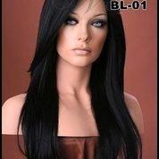 Supplier Wig Wanita Terbaru   Wig Wanita Murah   Wig Wanita Hitam Poni Panjang