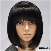 Supplier Wig Wanita Trendy   Wig Wanita Murah   Wig Pendek Bob Hitam