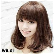Distributor Wig Wanita Murah Jakarta   Wig Wanita Murah Bandung   Wig Wanita Pendek Darkbrown