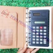 Agenda Kulit Binder Dengan Kalkulator