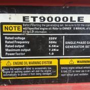 Genset 7000 Watt Di Sewakan
