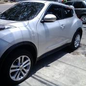 Nissan Juke Silver Plat L KM 80ribu Sudah Servis Berkala