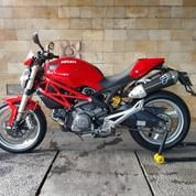 Ducati Monster 795 Merah 2014 Termignoni Full System Pajak Panjang