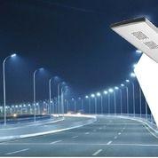 Lampu Jalan PJU Solar Panel All In One 30 Watt Tenaga Matahari