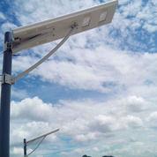 Lampu PJU Tenaga Surya Tipe All In One 60 Watt Solar Cell